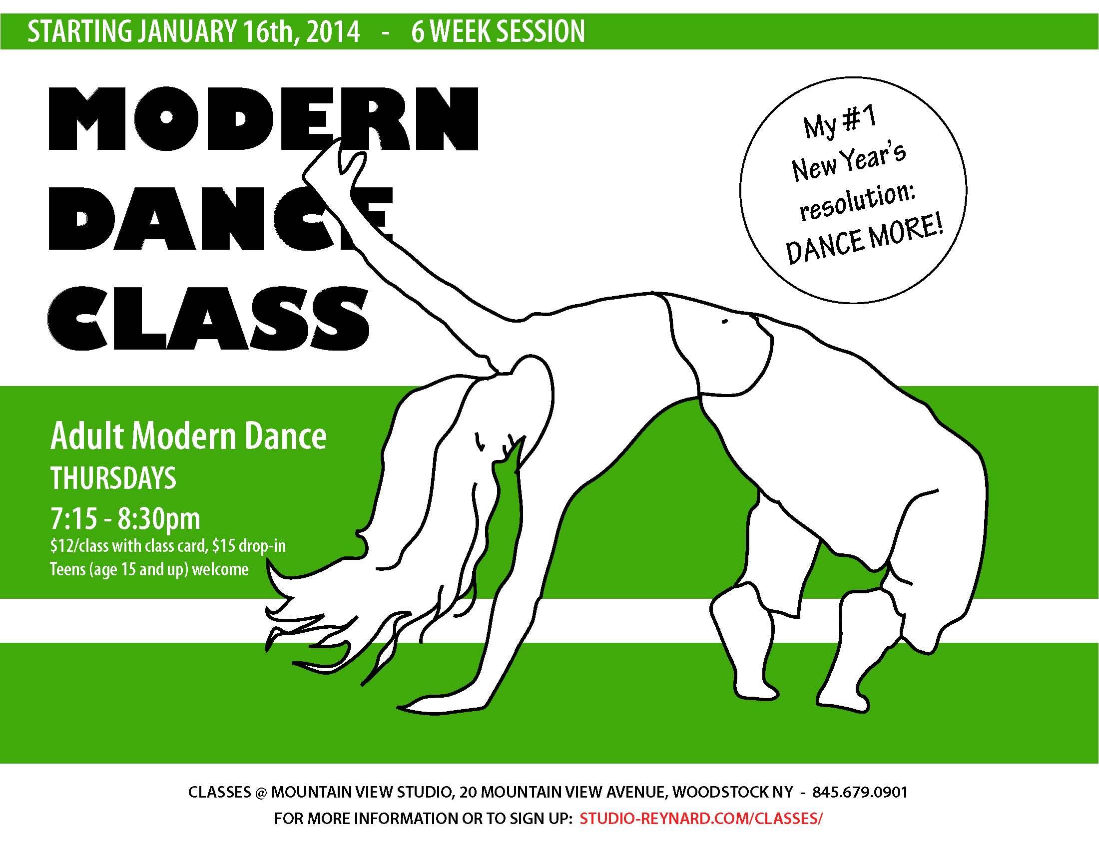 dance class 2014